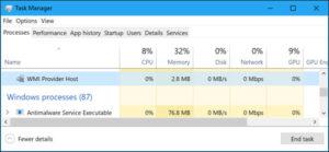1 ابزار مدیریت ویندوز WMI