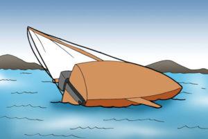 1 واژگونی قایق