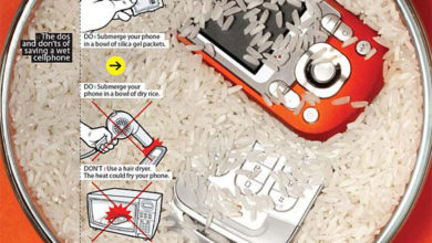 Photo of اقدامات لازم بعد از خیس شدن موبایل