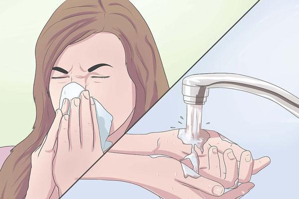 1 مبارزه با سرماخوردگی