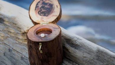 Photo of چگونه با وسایلی ساده جا انگشتری چوبی زیبا بسازیم؟