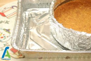 1 جلوگیری از ترک خوردن کیک پنیری