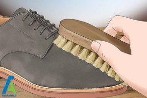 1 رنگ کردن کفش چرم جیر