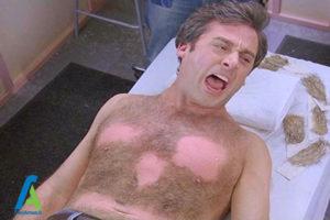 1 کاهش درد اپیلاسیون با موم