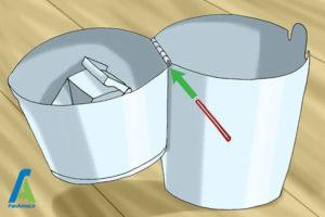 1 نحوه استفاده از سطل پوشک بچه