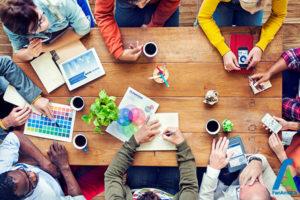 1 افزایش خلاقیت افراد در جلسه