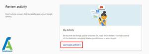 1 حذف صداهای ضبط شده گوگل هوم
