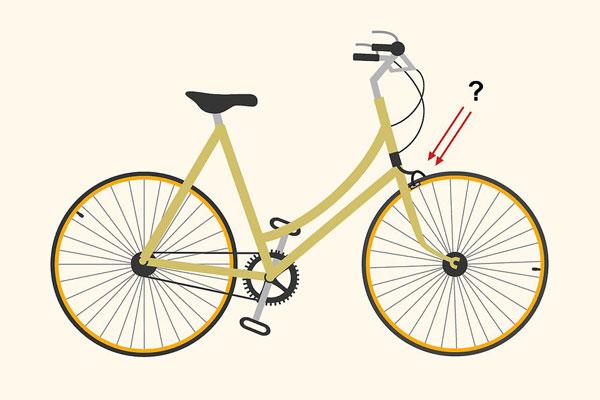 1 تنظیم ترمز دوچرخه