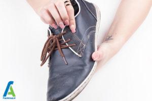 1 رفع لکه خراشیدگی روی کفش