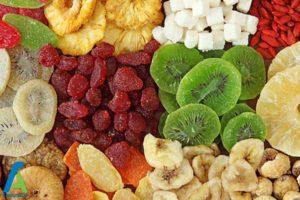 1 رفع مشکلات گوارشی با میوه های خشک