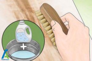 1 پاک کردن زنگ زدگی فلزات رنگ شده
