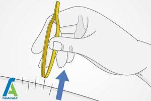 1 خارج کردن تیغ کاکتوس از بدن