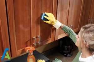1 مدت دوره تمیز کردن کابینت ها