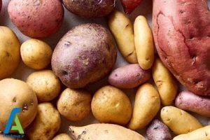 1 علت عدم نگهداری سیب زمینی در یخچال