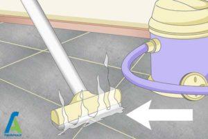 1 تمیز کردن بند رنگی کاشی و سرامیک
