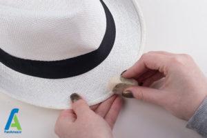 7 تمیز کردن کلاه آفتابی