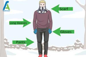 8 مراقبت از باد سوختگی