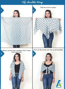 9 آموزش بستن دستمال گردنی