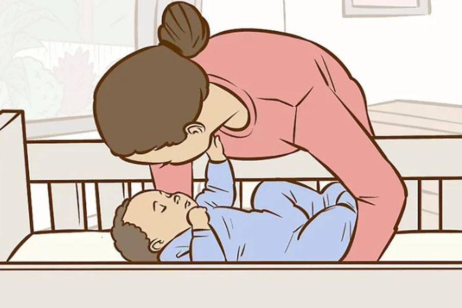 6 جلوگیری از سندرم سر صاف کودک