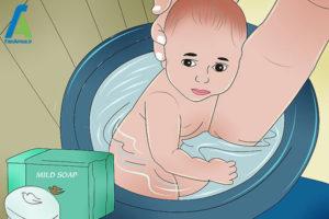 10 درمان سوزش ادراری پای کودک