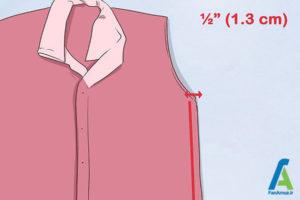 10 تغییر سایز پیراهن گشاد