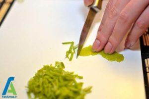 8 تهیه و استفاده از عصاره لیمو در غذا
