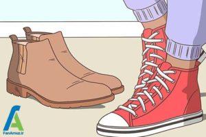 10 ست شلوار اسلش با انواع کفش و لباس