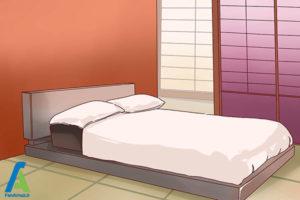 8 طراحی دکوراسیون اتاق خواب به سبک ژاپنی