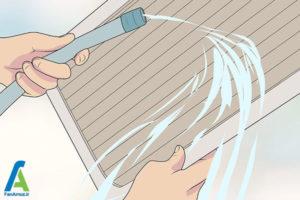10 تمیز کردن یا تعویض فیلتر هوا