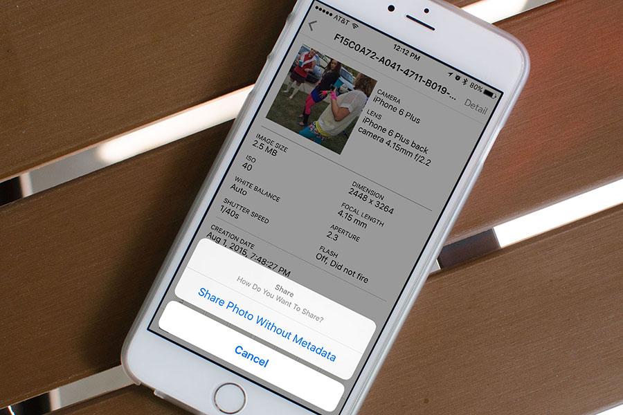 10 مشاهده فراداده های عکس در آیفون و آیپد