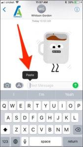 11 ارسال GIF در آیفون