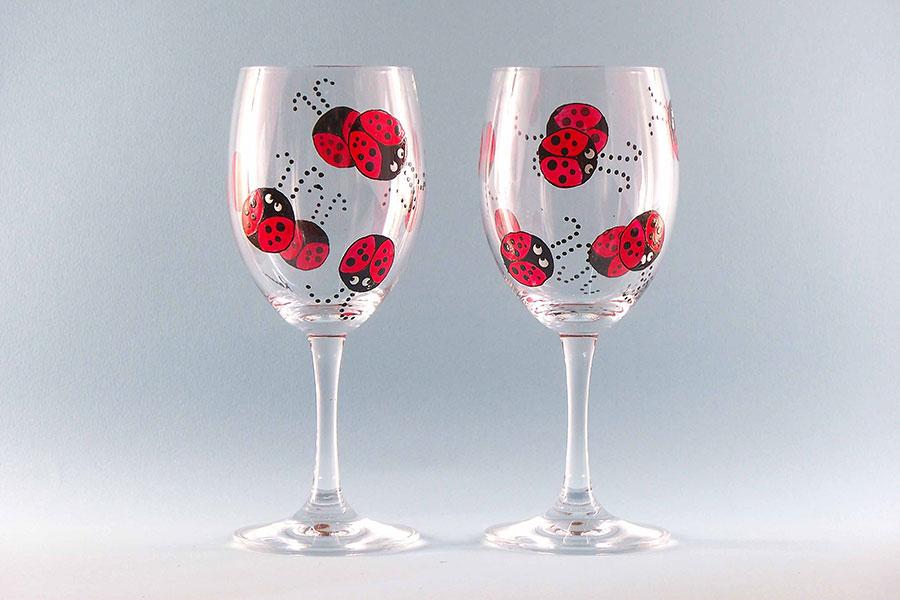 8 طراحی و تزئین جام شیشه ای