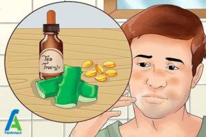 6 درمان خانگی درماتیت شوره ای