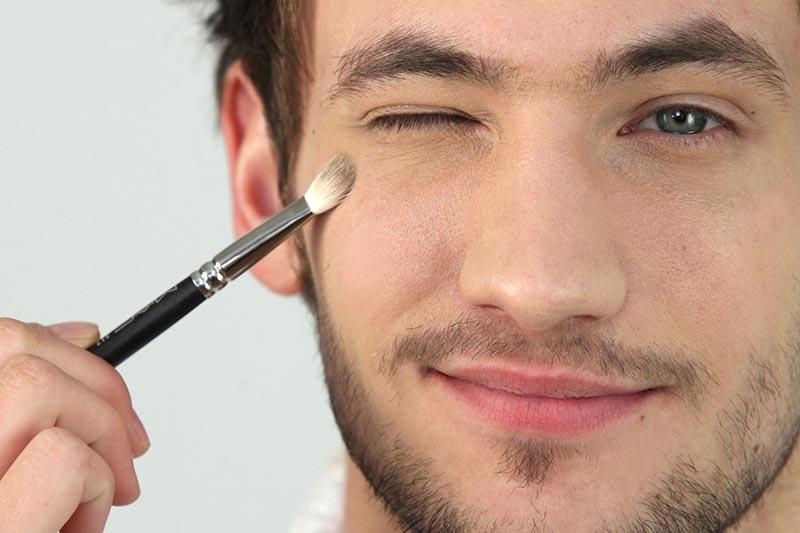 11 آموزش آرایش و میکاپ صورت مردان