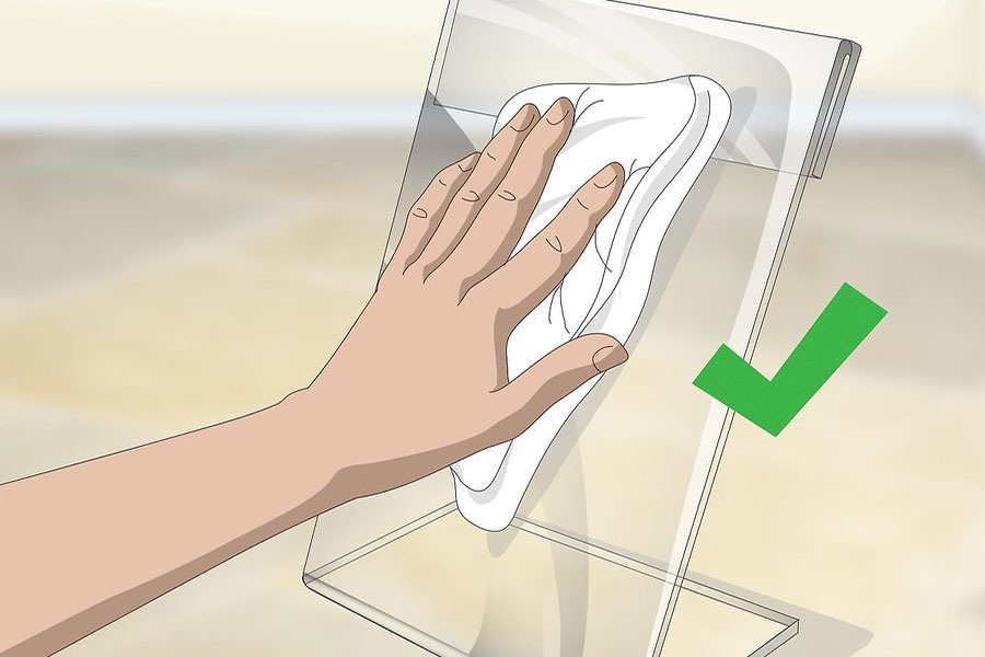 10 اصول پاک کردن سطح پلی متیل متاکریلات