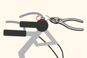 11 تنظیم ترمز دوچرخه