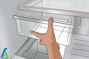 5 رفع بوی بد ماهی از یخچال