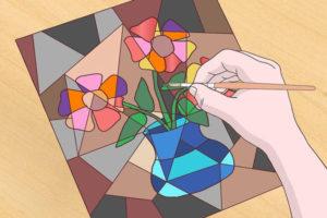 9 آموزش نقاشی کوبیسم