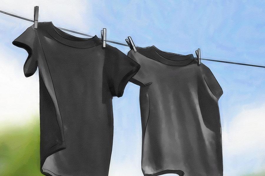 7 نحوه شستن اصولی لباس های مشکی