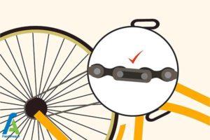 9 تمیز کردن زنگار های زنجیردوچرخه