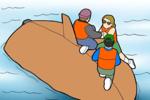 7 واژگونی قایق