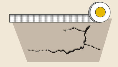 Photo of چگونه درز و ترک سقف کنافی را تعمیر کنیم؟