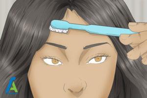 10 نحوه قرار دادن موی مصنوعی روی سر