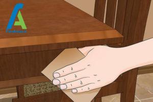 9 رفع لکه و مراقبت از وسایل چوبی