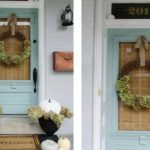 13 طراحی و تزئین ورودی منزل به سبک پاییزی