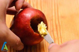 6 طرز تهیه سیب کبابی