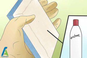 8 از بین بردن آثارجوهر داخل لباسشویی