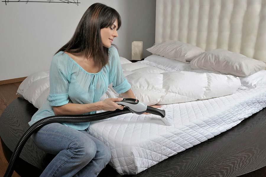 9 از بین بردن گرد و غبار خانگی رختخواب