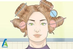 11 نحوه قرار دادن موی مصنوعی روی سر