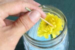 9 خشک کردن گل ها